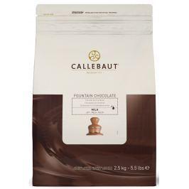 Callebaut Mléčná čokoláda do fontány 2,5 kg
