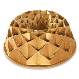 Nordic Ware Forma na bábovku Jubilee zlatá 2,3 l