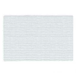 KJ Collection  Prostírání pruhované šedá 44 x 28,5 cm