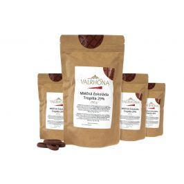 Mléčná čokoláda Tropilia Valrhona 29% 1 kg (4 x 250 g)