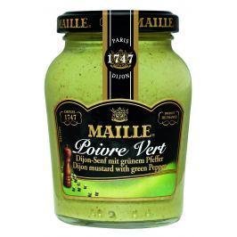 MAILLE Hořčice se zeleným pepřem 200 ml