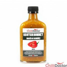 Chilli mash Scotch Bonnet se semínky 200 ml