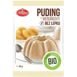 BIO puding bez lepku meruňkový Amylon 40 g