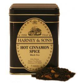 Harney & Sons Hot Cinnamon Spice Sypaný černý skořicový čaj v plechové krabičce 196 g