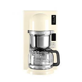 KitchenAid 5KCM0802EAC kávovar na přelévanou kávu, mandlová