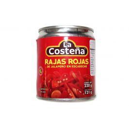 Jalapeno Rajas Rojas proužky 220g