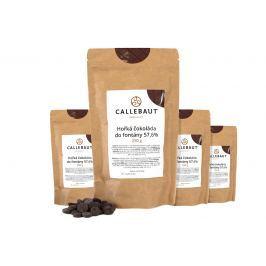 Hořká čokoláda do fontány Callebaut 57,6% 1 kg (4 x 250 g)