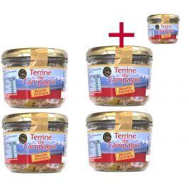 Farmářská terina Le goût du terroir 180 g 4+1 ZDARMA