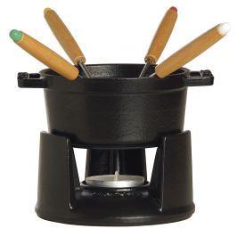 Staub set na čokoládové fondue, černá