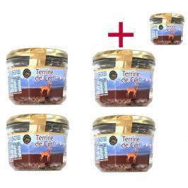 Jelení terina Le goût du terroir 180 g 4+1 ZDARMA