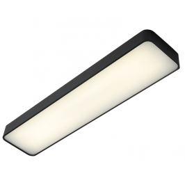 Nordic Design Grafitově černé kovové nástěnné světlo Paxon 90x20 cm