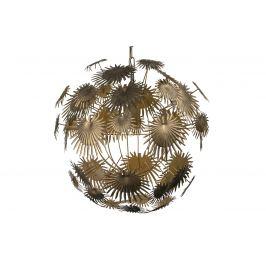 Hoorns Mosazné kovové závěsné světlo Thistle 55 cm