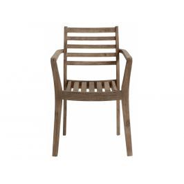 Zahradní židle LaForma Berkeley, akácie, hnědá C873M43 La Forma
