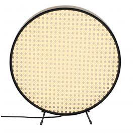 Přírodní ratanová stolní lampa ZUIVER SIEN 34 cm