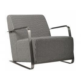 Designové křeslo ZUIVER ADWIN BLACK & WHITE,černobílé 3003003