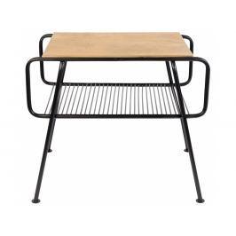 Odkládací stolek ZUIVER GUNNIK, mosaz 2300136 Zuiver