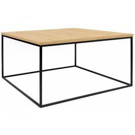 Konferenční stolek Amaro III, černá podnož, dub 9500.626609 Porto Deco