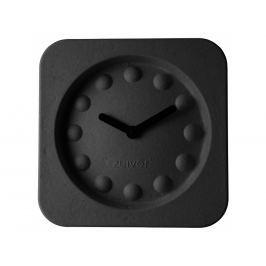 Nástěnné hodiny ZUIVER PULP TIME SQUARE, černá 8500020 Zuiver