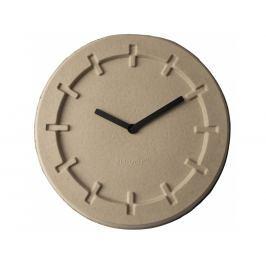 Nástěnné hodiny ZUIVER PULP TIME ROUND, béžová 8500021 Zuiver