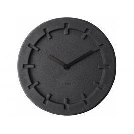 Nástěnné hodiny ZUIVER PULP TIME ROUND, černá 8500022 Zuiver