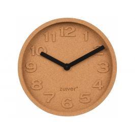 Nástěnné hodiny ZUIVER CORK TIME, korek S8500045 Zuiver