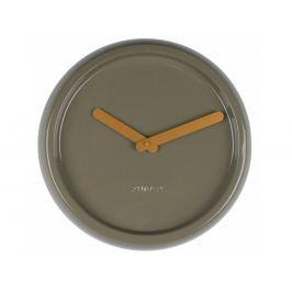 Nástěnné hodiny ZUIVER CERAMIC Ø 35 cm, zelená 8500024 Zuiver