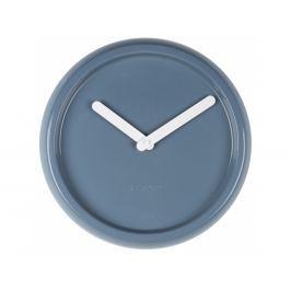 Nástěnné hodiny ZUIVER CERAMIC Ø 35 cm, modrá 8500023 Zuiver