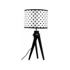 Stolní lampa LF 16, černá podnož (Bílo-černá)  LF16_CP Lifelight