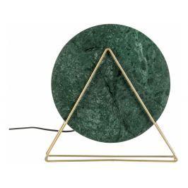 Stolní lampa DUTCHBONE LOUIS Ø 30 cm, zelený mramor 5200044 Dutchbone