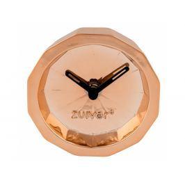 Stolní hodiny ZUIVER BINK TIME Ø 10,5 cm, měď 8500037 Zuiver