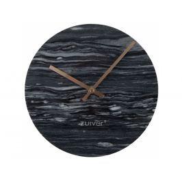 Nástěnné hodiny ZUIVER MARBLE TIME Ø 25 cm, mramor, šedá 8500035 Zuiver