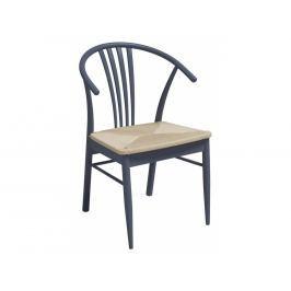 Jídelní židle Maret, modrá SCHDN22085-34 SCANDI