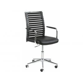 Kancelářská židle Arian, ekokůže, černá SCHDN0000061294S SCANDI+