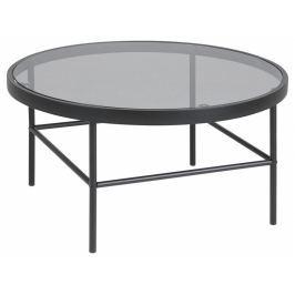 Konferenční stolek Tonya 80 cm, sklo, kov SCHDN0000075576 SCANDI