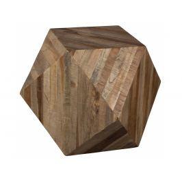 Odkládací stolek DUTCHBONE GEO Ø 54 cm, teakové dřevo 2400007 Dutchbone