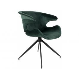 Jídelní židle ZUIVER MIA, zelená S1200148 Zuiver