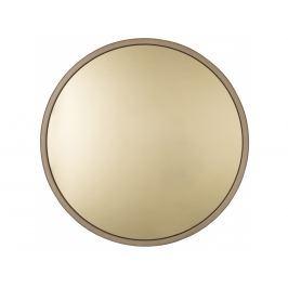 Závěsné zrcadlo ZUIVER BANDIT Ø 60 cm, mosaz S8100015 Zuiver