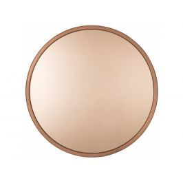 Závěsné zrcadlo ZUIVER BANDIT Ø 60 cm, měď S8100014 Zuiver