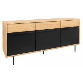 Designová komoda Belmiro 159 cm, dub 9500.401824 Porto Deco