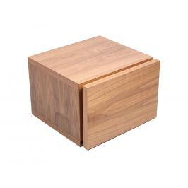 Noční stolek Tiago, ořech 9003.759543 Porto Deco