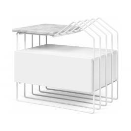 Noční stolek Paulo s mramorovou deskou 9300.760921 Porto Deco