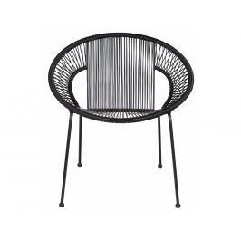 Zahradní židle Rody, černá Sdee:341206-Z Hoorns +