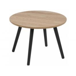 Odkládací stolek Stanfield 50 cm, dýha, jasan SCHDN0000072081S SCANDI+