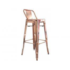 Barová židle Tolix, měď kh:1802 Culty Gold