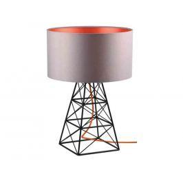 Stolní lampa Pylon šedá/oranžová filamenstyle613 FILAMENTSTYLE