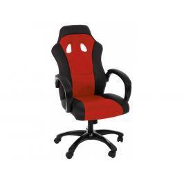 Kancelářské křeslo Gasol, červená SCHDN0000061272 SCANDI
