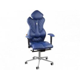 Kancelářské křeslo Royal, ekokůže (Modrá)  KS-0503 Kulik System