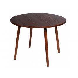 Jídelní stůl Spirano průměr 100 cm, ořech 71243 CULTY