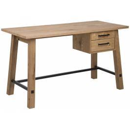 Pracovní stůl Kiruna 130 cm, dub SCHDNH000015837 SCANDI