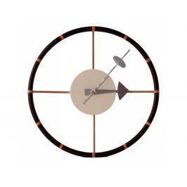 Nástěnné hodiny Drive 30 cm, hnědá 5186 CULTY